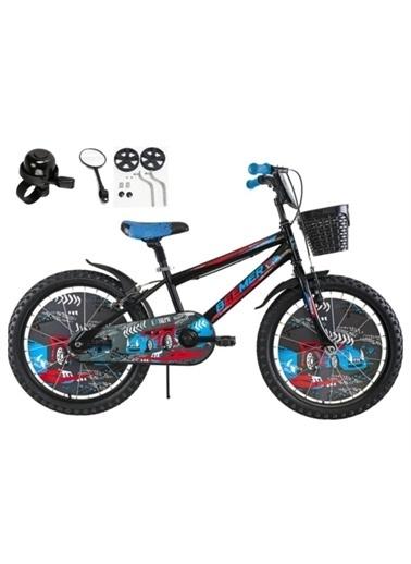 Rival 20 Jant Beemer 7-10 Yaş Arası Çocuk Bisikleti Zil-Ayna-Takviye Denge Tekeri Hediyeli Mavi